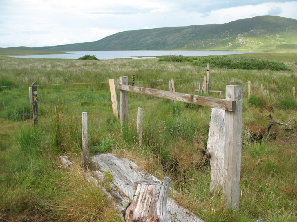 Sligo Way towards Lough Easky